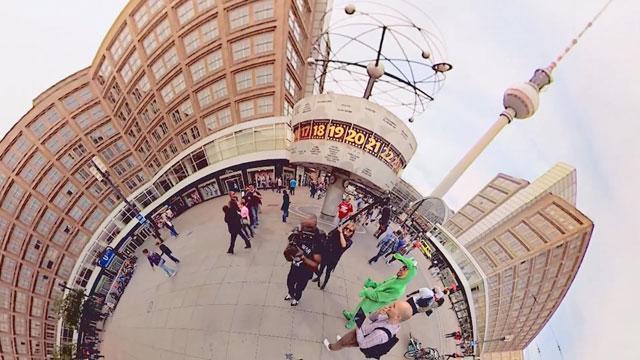 Jonas Ginter – Planet Berlin – 360° with a Croc (01:16)