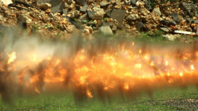 Pixels Revenge – Fire Sparks & Explosions (01:00)