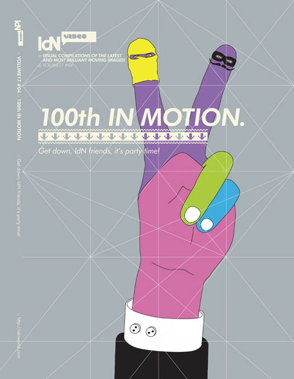 IdN Video v17n4: 100th in Motion – Get down, IdN friends, it's party time!