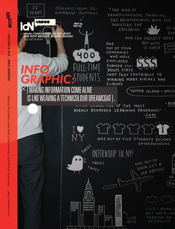 IdN Video v18n4: Infographics – Bringing bald facts to life